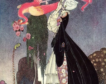 Kay Nielsen Fairy Tale Illustration to Canvas Ready to Hang NEW