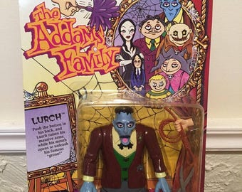 Playmates The Addams Family Lurch Figure Unpunched, MOC, 1992!