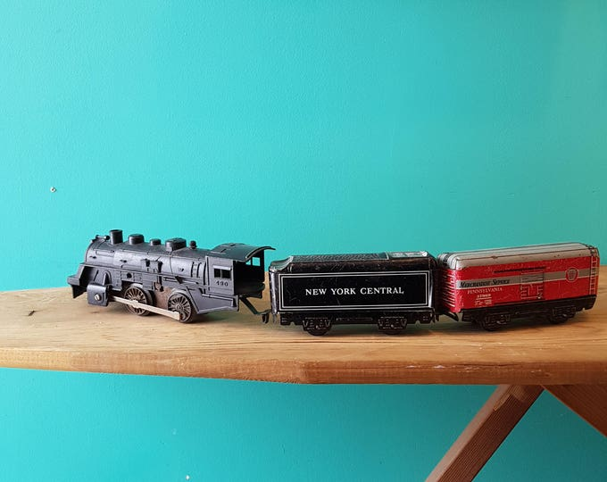 1950's Marx Lithographed Tin Train Set