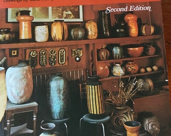 1976 the Complete book of pottery making by John b kenny old paperback  pottery kiln throw pots pinch etc