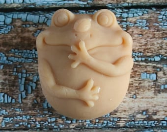Frog Goat's Milk Soap, Scented Frog Soap, Frog Soap  Lin the Frog Soap, Unscented Frog Soap, Homemade Soap, Made in Montana Soap