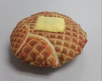 Breakfast Waffle Magnetic Pin Cushion