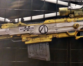 Hyperion Borderlands Inspired Nerf Gun