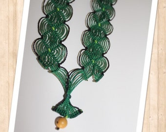 Necklace Macrame Tell more tell