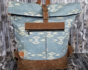 Canvas Range Backpack, spring/summer bag for travel, work, school, beach, vacation