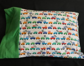 Travel Size Pillowcase: Cars