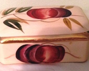 Wade Harvest Ware Fruit and Leaves - CIGARETTE BOX