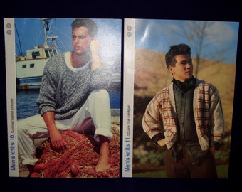 Mens vintage knitting  patterns (2)