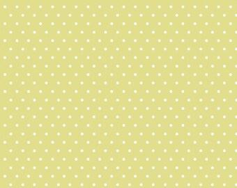 Polka Dot - Green - Tout Petit KNIT by Cloud9 Fabrics