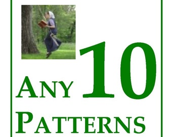 25% OFF ANY 10 CROCHET Patterns -- the Jewell's Handmades