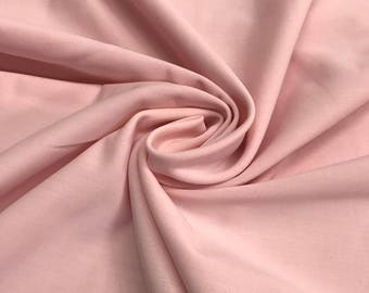 "Pink Lycra Matte Milliskin Nylon Spandex Fabric 4 Way Stretch 58"" wide Sold By The Yard"