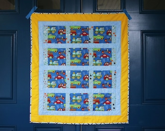 Vroom Vroom Baby Quilt