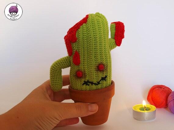 Amigurumi Cactus Tejido A Crochet Regalo Original : Cactus tejidos al crochet autora de los patrones y realizadora del
