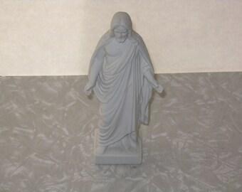 "Vintage ceramic Jesus small statue figurine ""The Christus"""