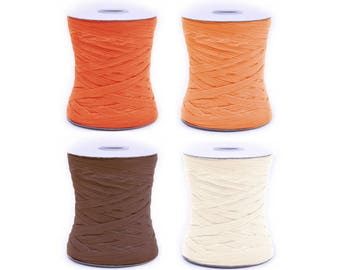 100 YRD color paper raffia, gift wrap, raffia ribbon, dye raffia, paper raffia, raffia string, craft supplies, paper ribbon, paper string