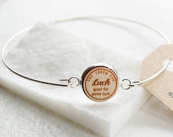 Luck Token Bracelet - Good for some luck