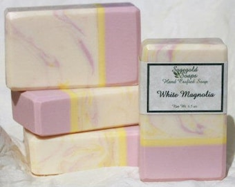 White Magnolia Handmade Artisan Soap