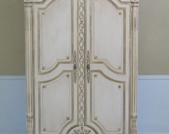 29856EC: EJ VICTOR Newport Mansions French Armoire ~ NEW