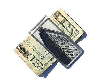 Finance Gift- Corporate Gift- Money Clip- Moneyclip- Billfold- Cool Dad Gift Ideas- Gift for Dad- Father's Day Gift- New York City