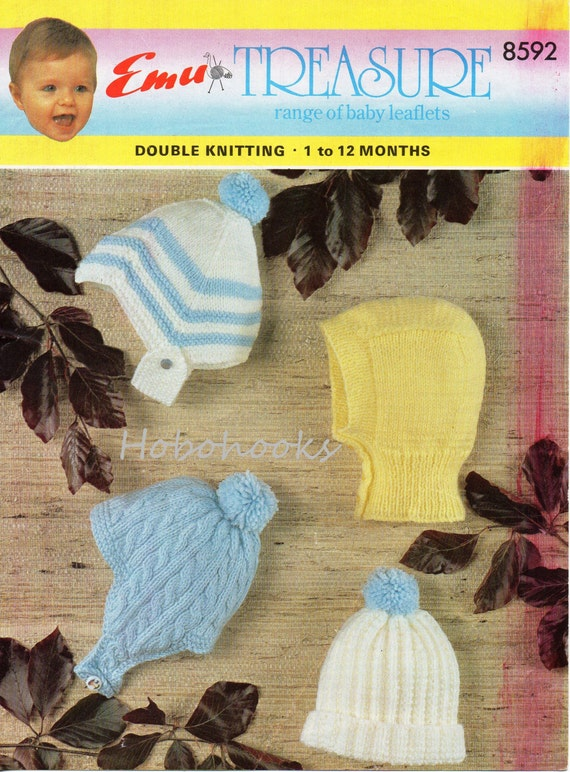 Baby Knitting Pattern Baby Boys Helmets Hat Balaclava Baby Boys Hats