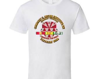 Army - Company C 307th Eng Bn - Vietnam War W Svc Ribbons T-shirt
