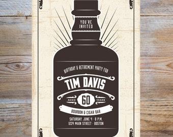 Bourbon Party Invitation