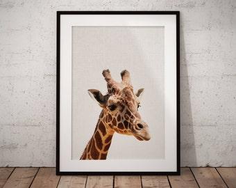 Giraffe Nursery, Safari Nursery Art, Giraffe nursery wall decor, Safari wall decor for nursery, Safari nursery print, safari wall art, Print
