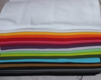 Fine Strickbündchen Bündchenware Tube Cuffs Package Mixed 19 colours 4.75 m children's fabrics