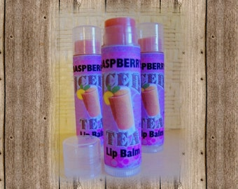 Lip Balm - Raspberry Iced Tea flavored