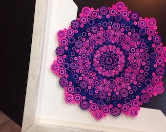 paper quilled mandala