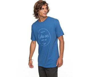 Quiksilver Classic Morning Slides - T-Shirt, blue