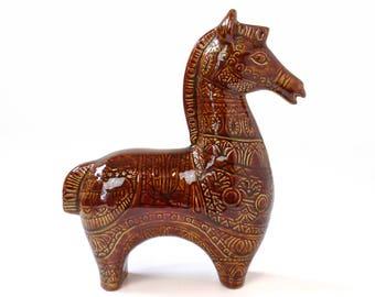 Mid Century Modern Ceramic Horse
