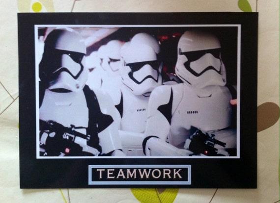 teamwork motivational poster