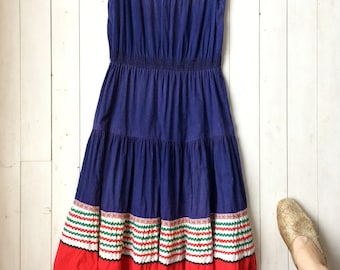 As-Is Late 1940's early 1950's Patio Dress Small