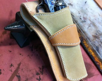Custom Quick draw holster Hand made. for Colt.45