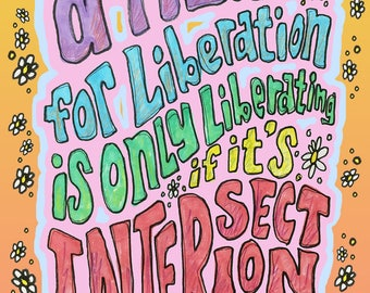 Intersectionality (Ode to Kimberlé Crenshaw and Peter Max)