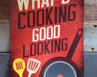 What's Cookin Good Lookin Poster