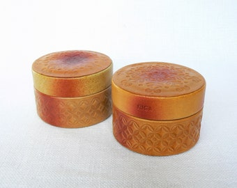 Leather BOX Vintage/ Small Jewelry Box Leather/ Vintage Leather Accessory/  Latvia 1980s