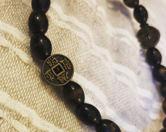 Wood Bead Elastic Symbols