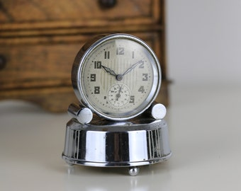 Vintage French Small Alarm Clock