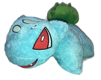 Bulbasaur Handmade Plush Pokemon Pillow Pet