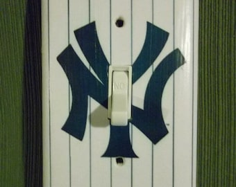 New York Yankees Light Switch Plate Cover - Home Decor *Choose Cover Type*