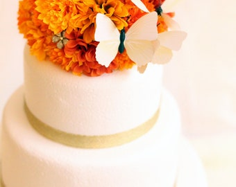 Tangerine Dreams and Wings cake topper