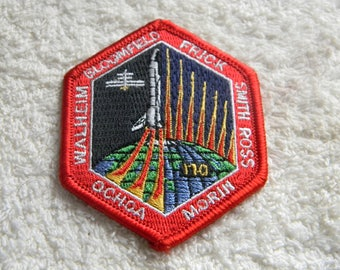 Nasa Patch...ochoa, walheim, bloomfield, frick, smith, ross,  morin