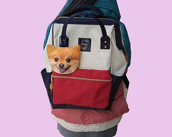 Pomeranian, dog   coin pouch dog pouch     dog    coin  purses                                  pattern coin-D116