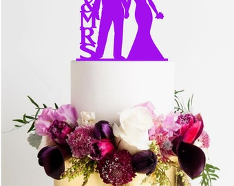 wedding cake topper Mr & Mrs Police Officer and bride Wedding Cake Topper police Cake Topper bride cake topper police officer cake bride top