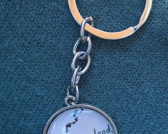 Gilmore Girls Where You Lead I Will Follow keychain