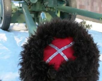 Cossack fur hat papaha papakha winter hat