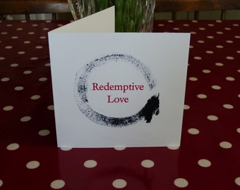 Redemptive Love Enso Card
