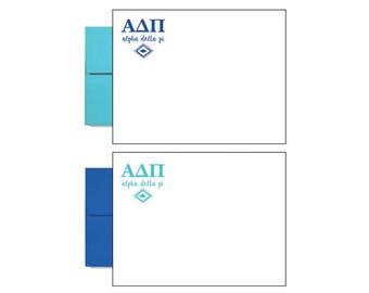 Alpha Delta Pi Postcards - Letters